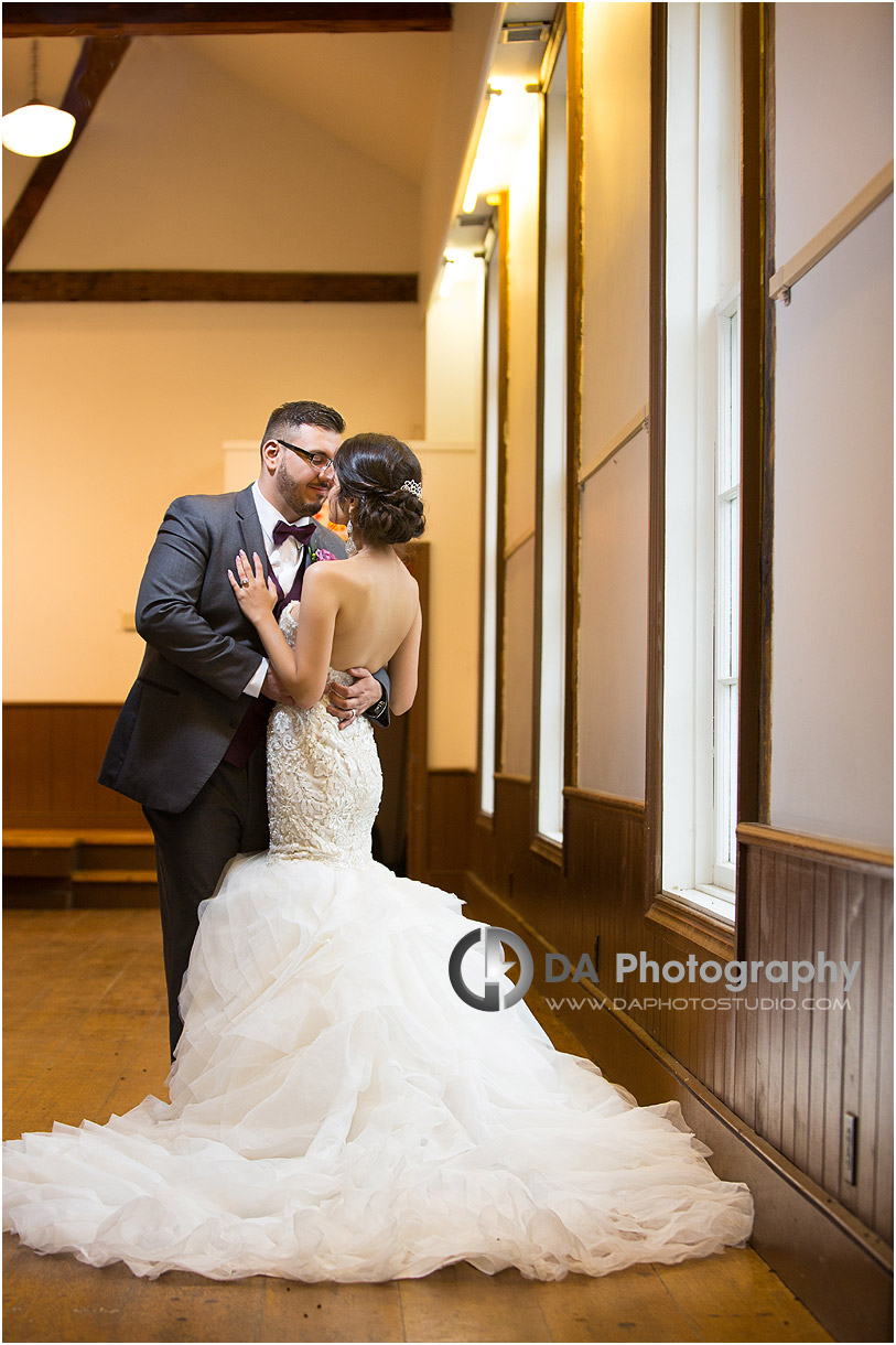 Bride and Groom in Milton
