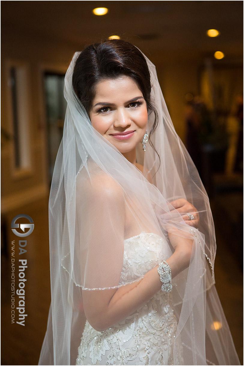 Wedding Dress at La Dome Banquet Halls