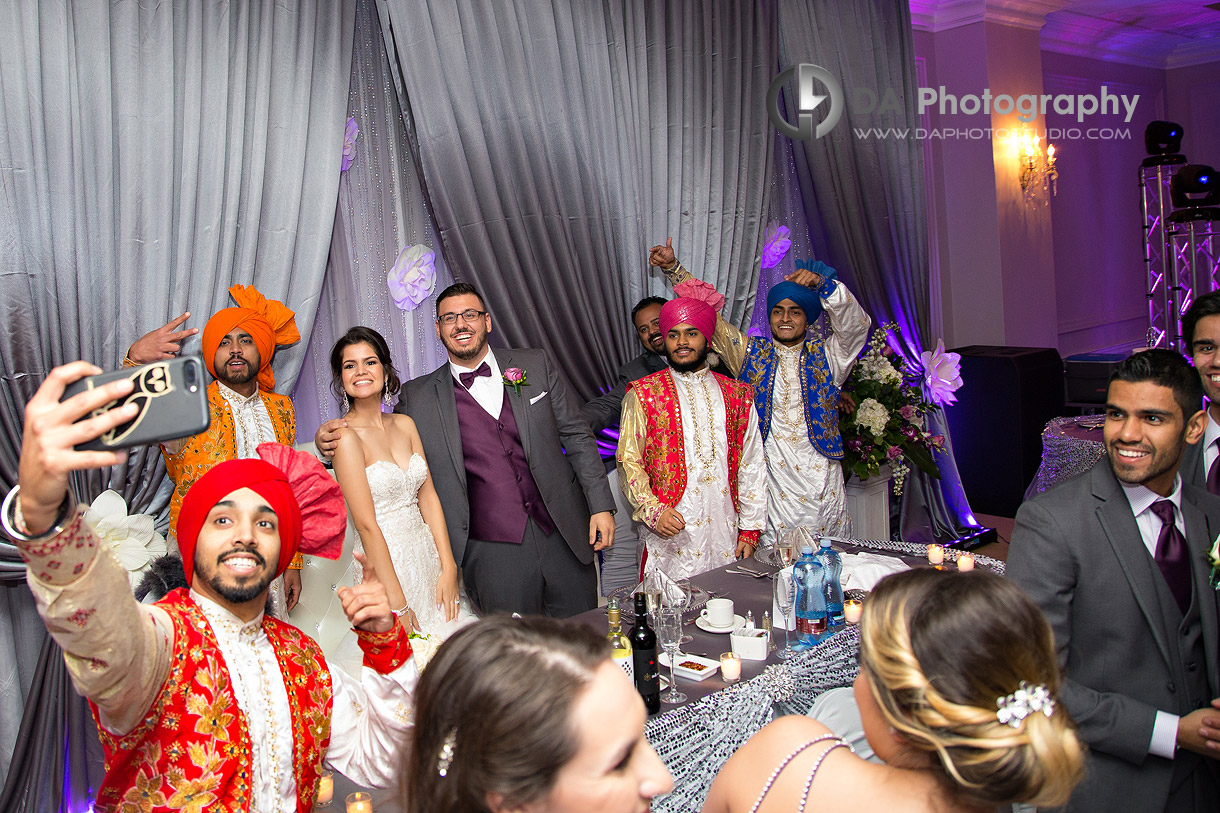 Wedding at La Dome Banquet Halls in Oakville
