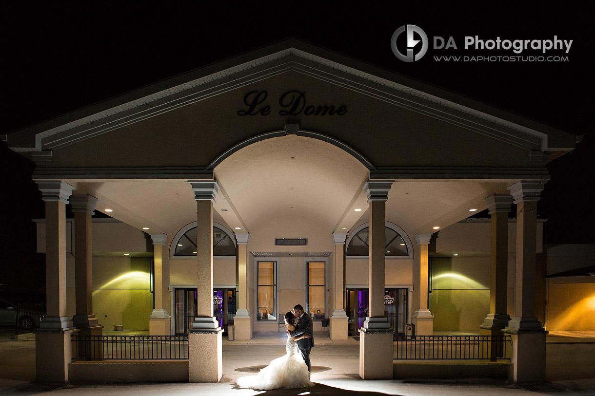 La Dome Banquet Halls Garden Wedding